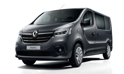 Renault Trafic 8+1.  nuoma