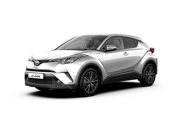 Toyota C-HR Hybrid rent